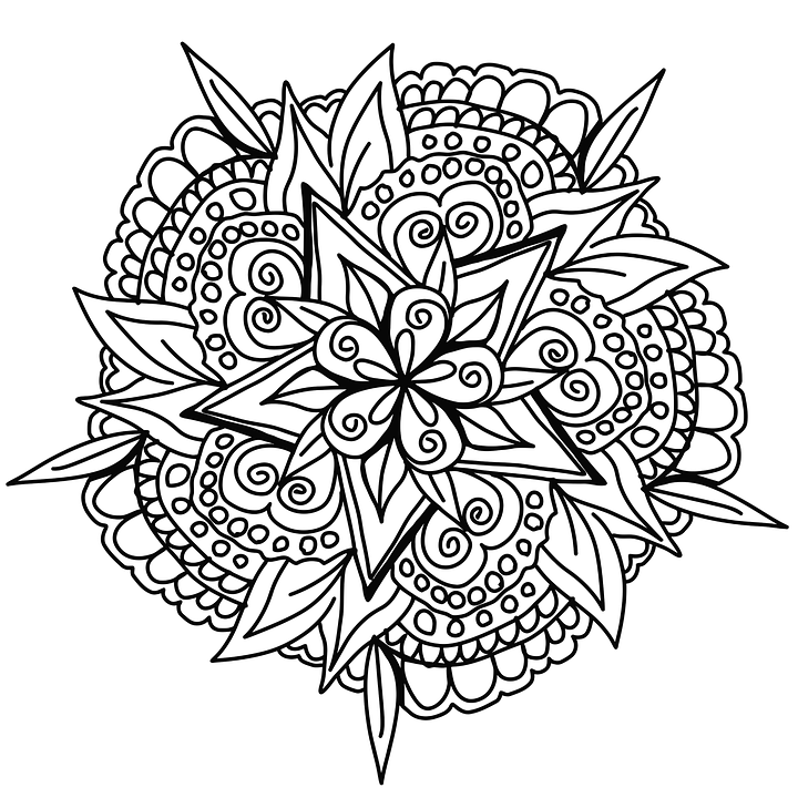 Drawing Mandala Design Free image on Pixabay