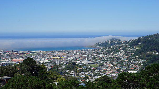 Wellington, Mount Victoria, New Zealand