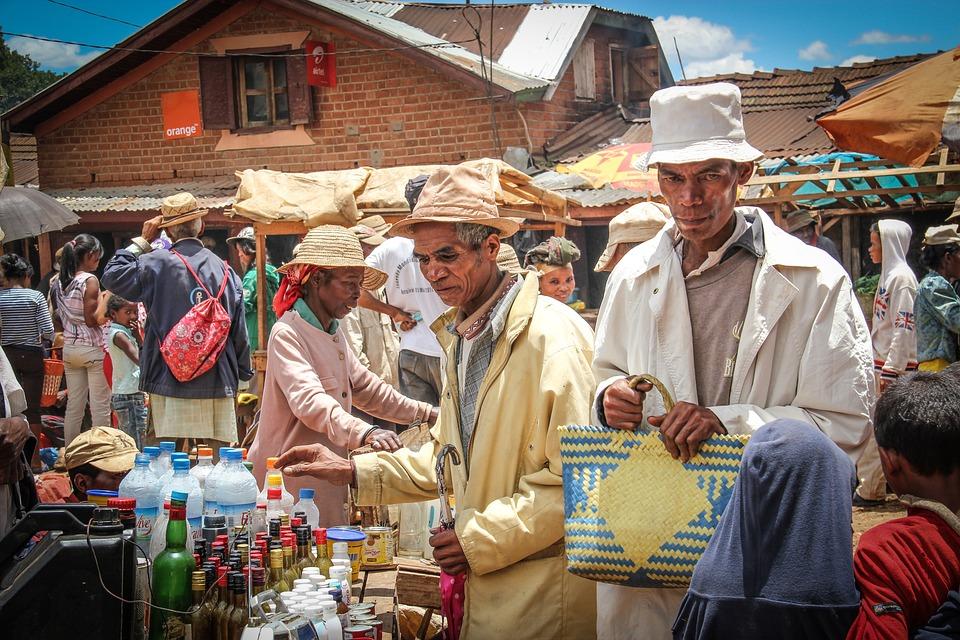 Madagaskar, Kraju, Wieś, Ubóstwo, Biedni Ludzie, Afryka
