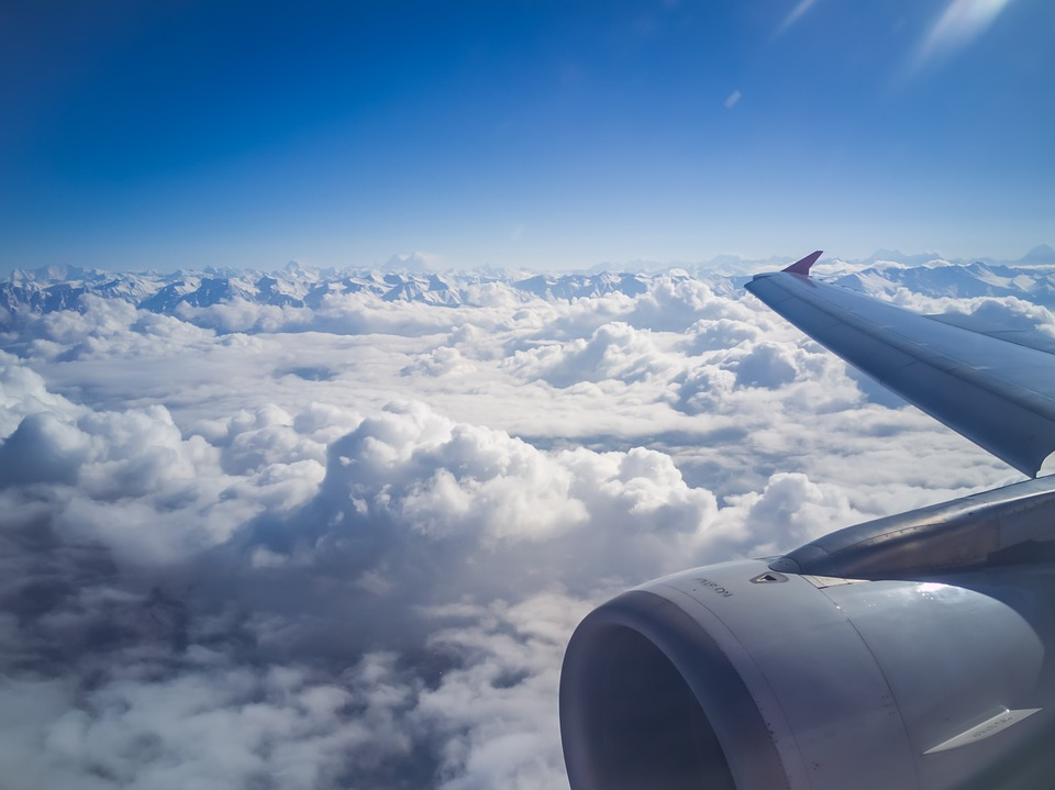 Plane Window Seat View - Free photo on Pixabay