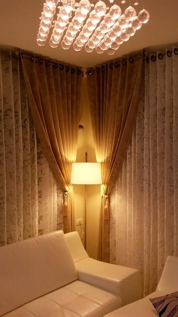 Gratis foto gordijn zijden interieur design gratis for Interieur design opleiding hbo