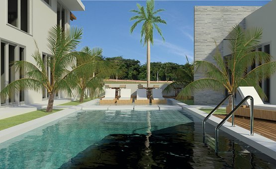 Project, Architecture, Pool