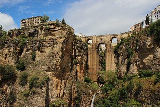 Ronda, Spain, Andalusia, Bridge, Ronda