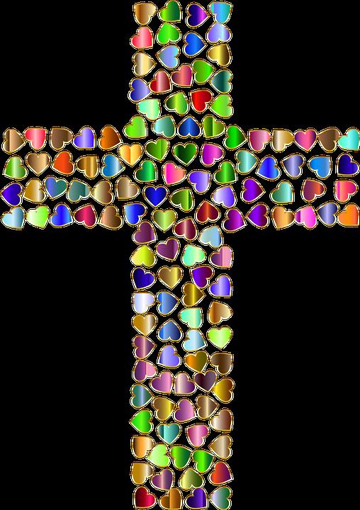 Christ Christian Cross Free Vector Graphic On Pixabay