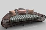 sofa, furniture, house