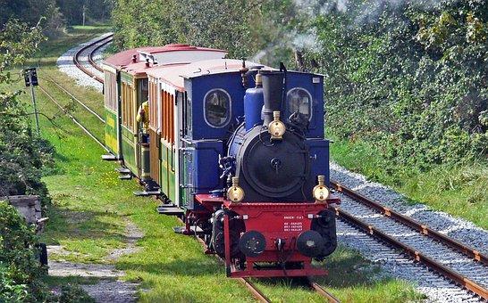 Borkumer Kleinbahn, Steam Train