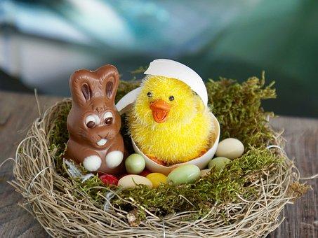 Easter Nest, Easter, Easter Eggs, Egg
