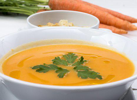 Carrots Soup Fresh Soup Food Soup Carrot F
