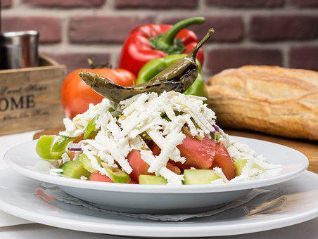 Bulgarian Traditional Salad, Bulgaria