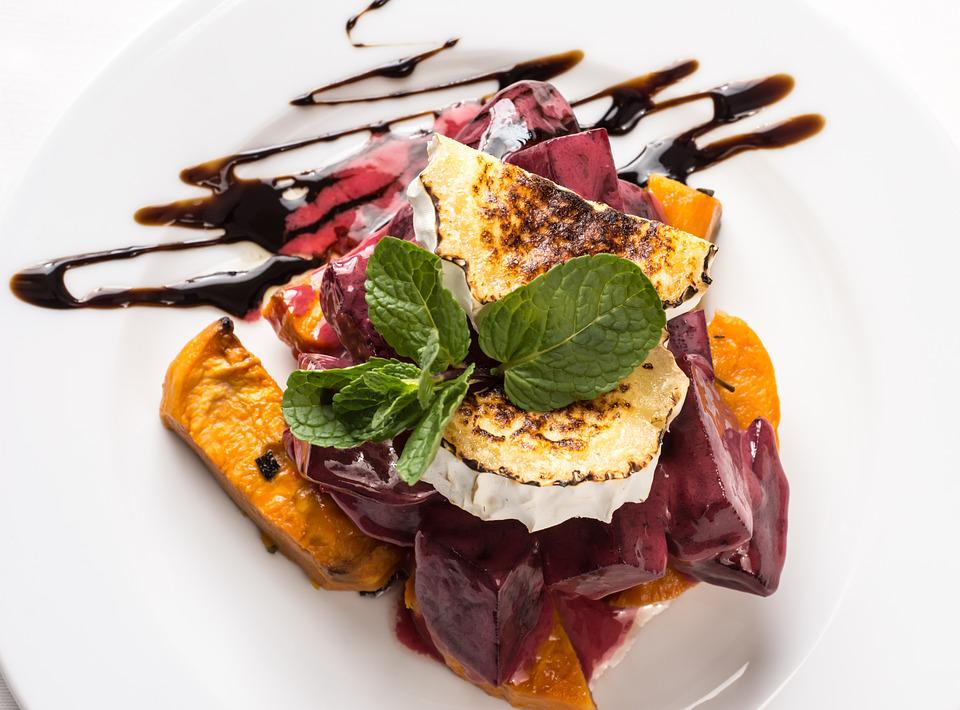 gourmet salad pumpkin cheese free photo on pixabay