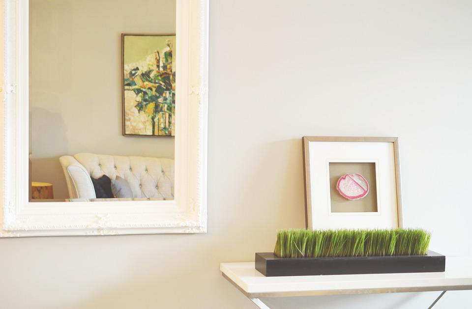 Mirror, Decor, Home, Picture Frame, Photo Frame, Design