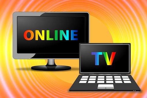 Watch Tv, Online, Tv, Laptop, Internet
