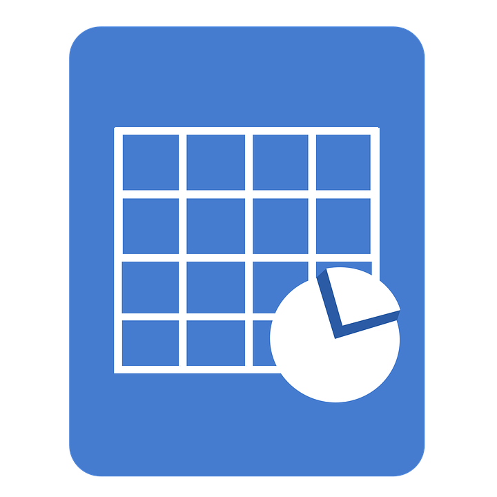 spreadsheet document icon sheet  u00b7 free image on pixabay