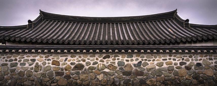 Telha De Telhado, Parede De Pedra