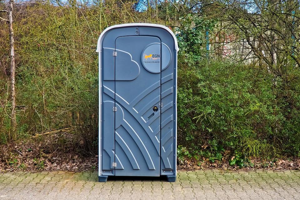 Mobile Toilet Cabin, Toilet, Dixi Klo, Wc
