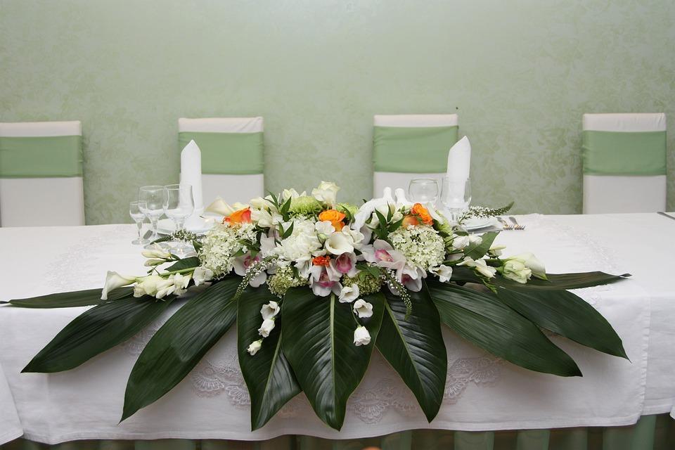Wedding Decor Floral Arrangement Free Photo On Pixabay