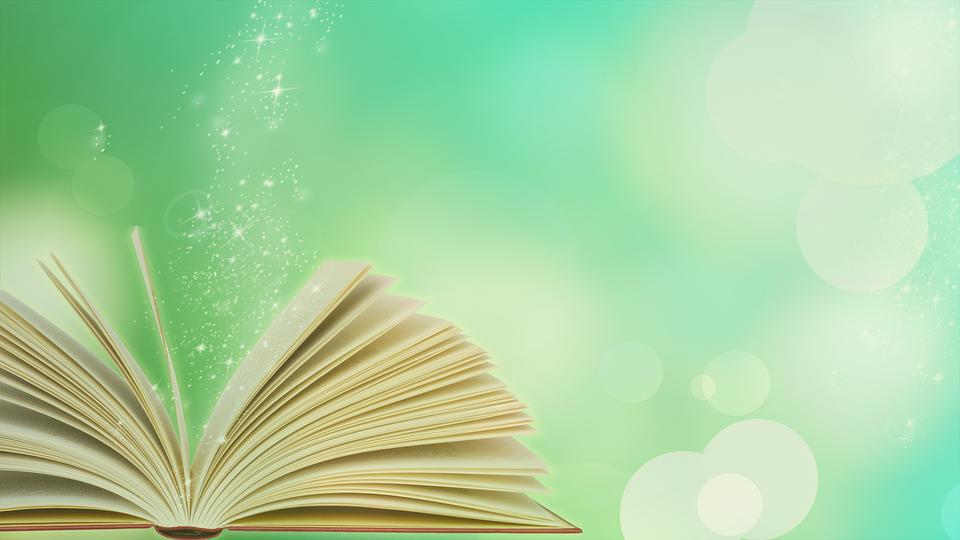 本, スター, 開いた本, マジック, 読み取り, 文学, 魔法, 輝き, 輝きます, ファンタジー, 緑