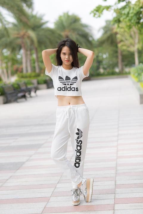 b87d0a533c20 girl sport fashion adidas fitness body outdoor
