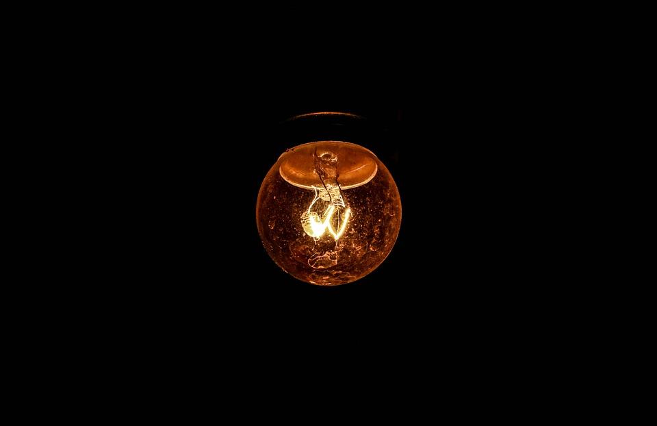 Light Bulb, Incandescent Bulb, Filament