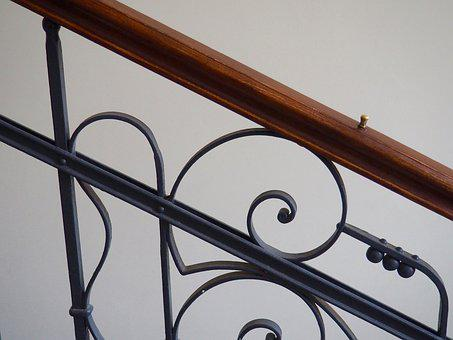 Art, Railing, Design, Metal, Classic