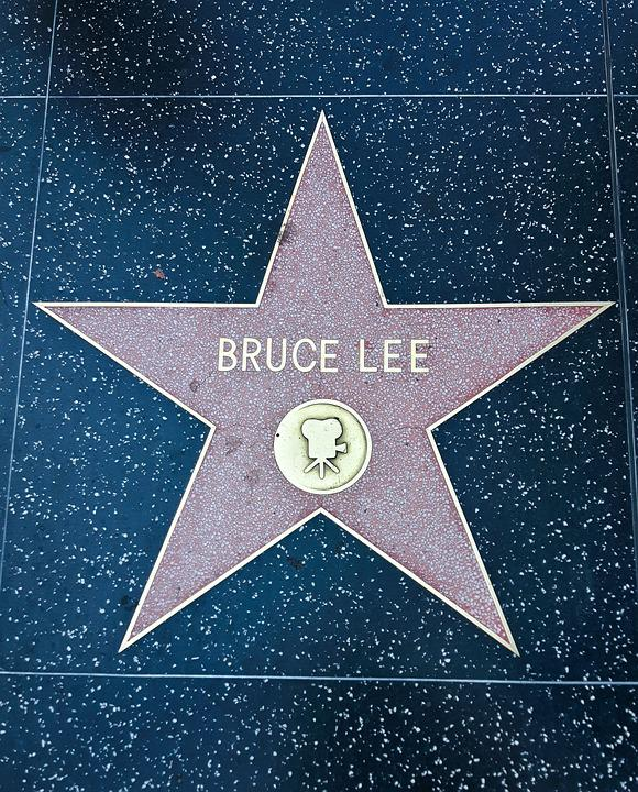 Walk Of Fame, Bruce Lee-facts-stats