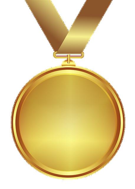 medal gold design transparent  u00b7 free image on pixabay