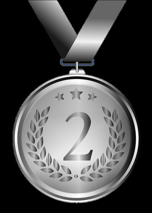 Medaile, Stříbro, Design, Průhledné Pozadí, Výzdoba