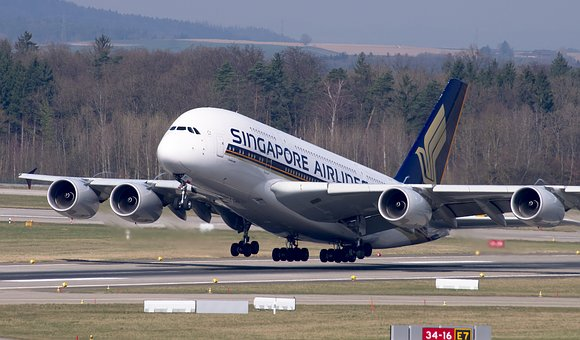 Aircraft, Singapore Airlines, Airbus