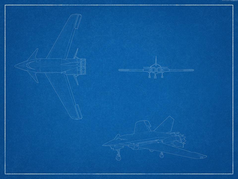 Blaupause Flugzeuge Flugzeug · Kostenloses Bild auf Pixabay