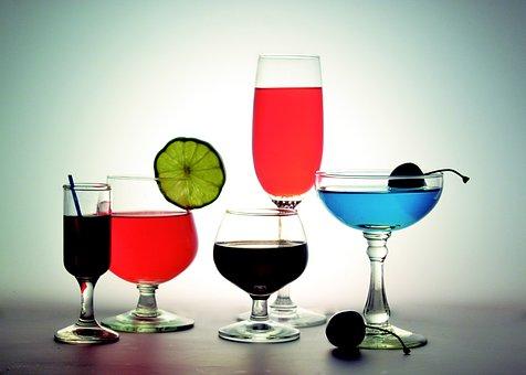 Cocktail, Alkohol, Gläser, Tassen