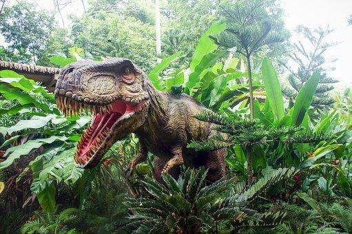 シンガポール動物園, シンガポール動物園-Rassic公園, 動物園, 恐竜