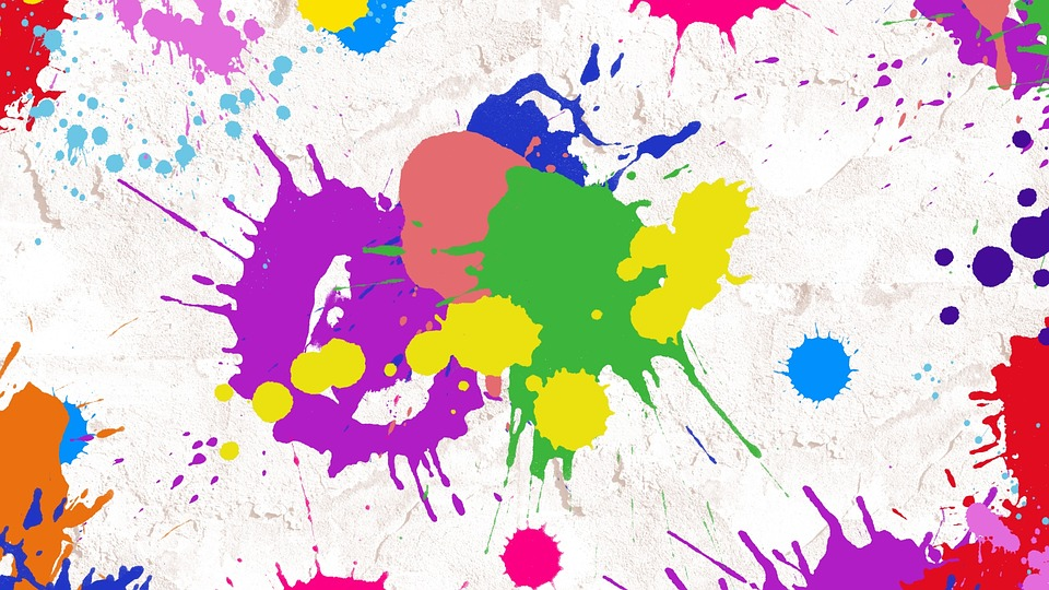 splatter paint abstract art free image on pixabay