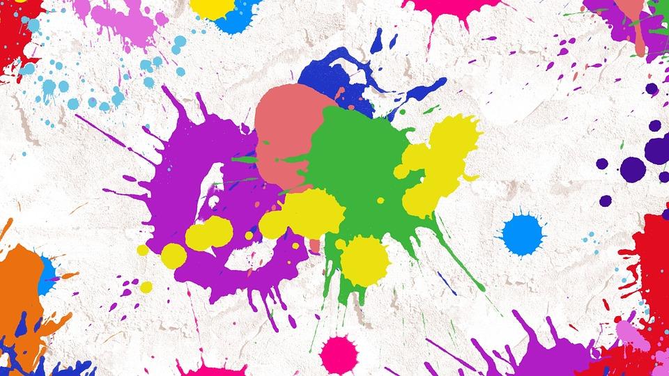 Paint Splatter Abstrakt Kunst - Kostenloses Bild auf Pixabay