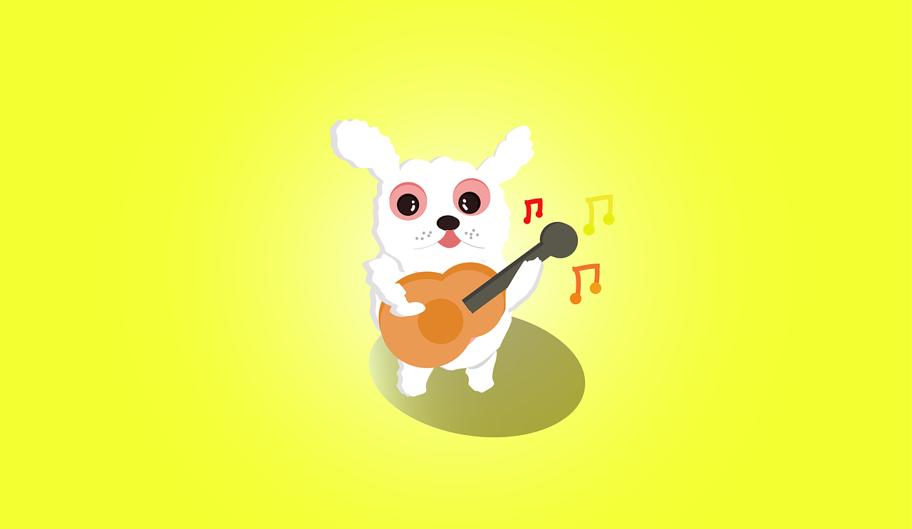 Rabbit Cute Sing Free Image On Pixabay