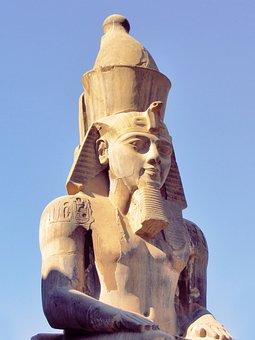 Egypt, Pharaoh, Ramses, Old, Monument
