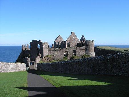 L'Irlande, Château, Irlandais, Voyage