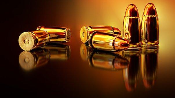 箇条書き, シェル, 弾砲, カートリッジ, 武器, 戦争, ハンドガン, 弾薬