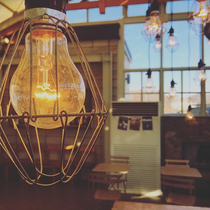 Glühbirne Interieur Cafe · Kostenloses Foto auf Pixabay
