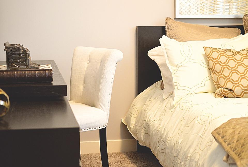 Bett Schreibtisch Schlafzimmer - Kostenloses Foto auf Pixabay
