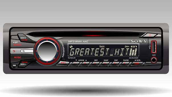 Radio For Car, Technology, Realistic