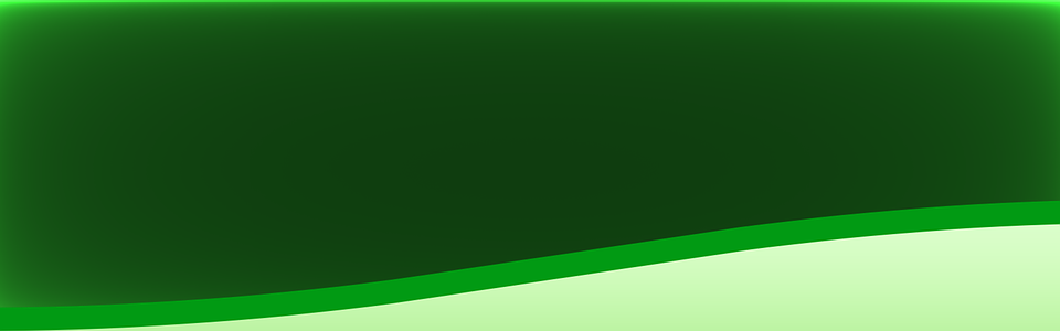 banner design lime green glowing abstract
