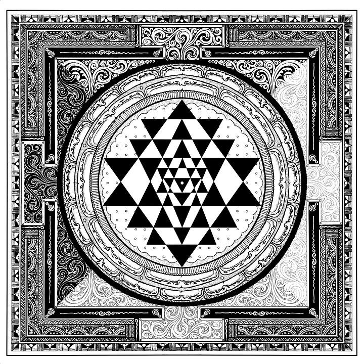 Sri Yantra Symbol Free Image On Pixabay
