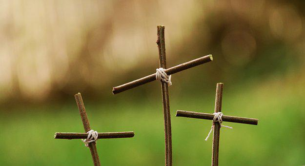 Passion Three Crosses Cross Good Friday Ea