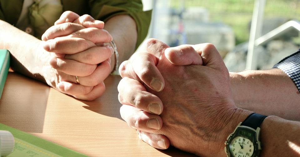 Mãos, Orar, Oração, Mãos Reza, Fé, Dobrado, Esperança