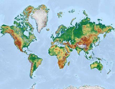 300 Kostenlose Weltkarten Erde Bilder Pixabay