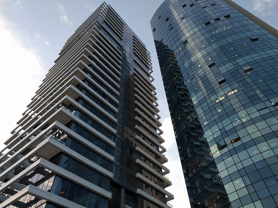 Urban City Buildings Windows Skyscrapers Tel Aviv Urban City Buildings  Free Photo On Pixabay
