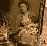 refugee, child