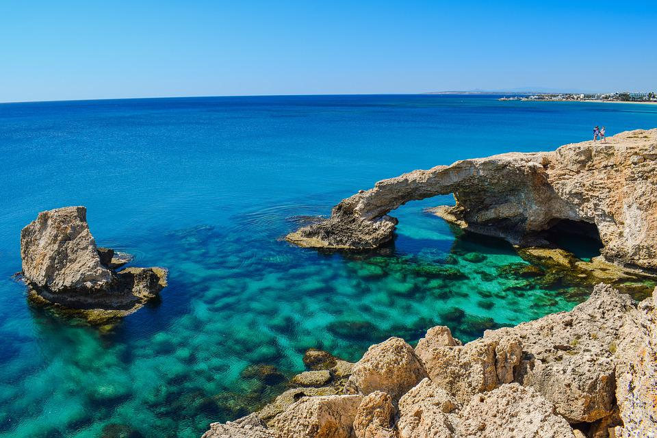 Cyprus, Ayia Napa, Natural Arch, Coast, Erosion