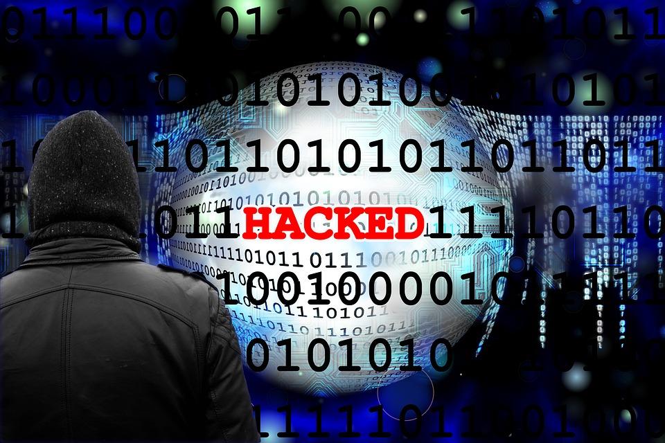 Binär, Schwarz, Cyber, Daten, Ziffern, Hack, Gehackt