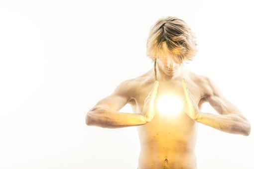 A Man, Boy, Photo, Act, White, Light